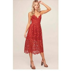 Astr Red Dress XS